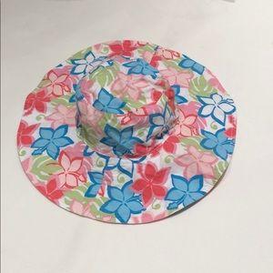 Gymboree floral sun hat